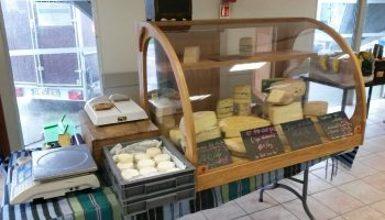 Vitrine à fromages